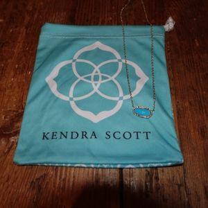 Kendra Scott Elisa Necklace in Sky Blue NWT